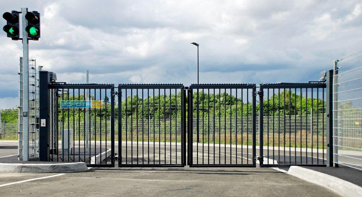 Монтаж ворот - промышленные ворота от производителя WISNIOWSKI
